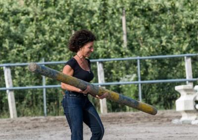 Daniela in campo